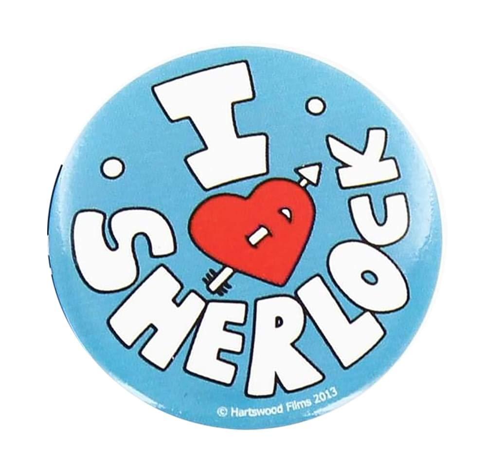 Se7en20 Sherlock Holmes I Love Sherlock Pin: Amazon.es: Juguetes y ...