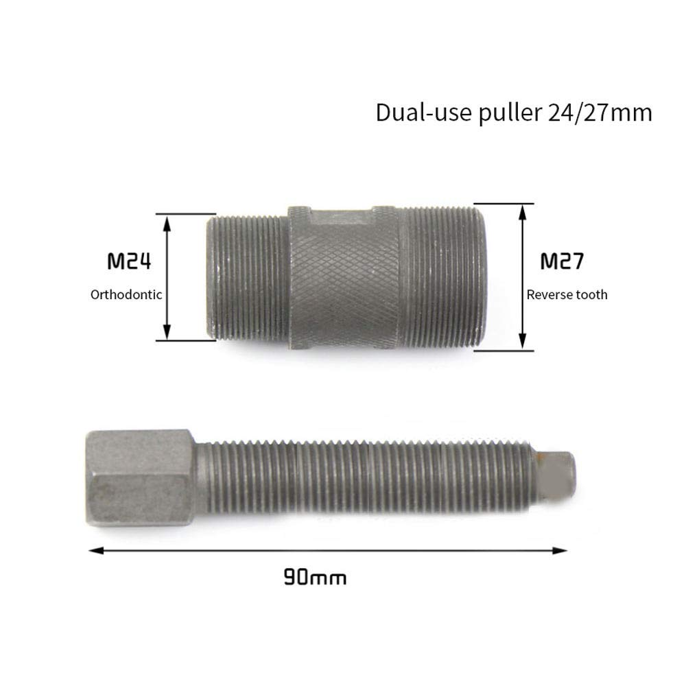 Refaxi Flywheel Stator Puller Tool 24//27mm for Gy6 CG25 JH70 SG50 50cc-150cc Engine Repair Tool