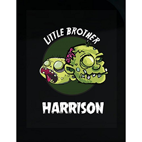 Prints Express Halloween Costume Harrison Little Brother Funny Boys Personalized Gift - Sticker
