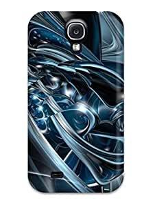 BukbFQO4225ybMel Jesse Dennis Wright Awesome Case Cover Compatible With Galaxy S4 - Abstract