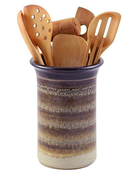 Amazon.com: American Made Stoneware Pottery Countertop ...