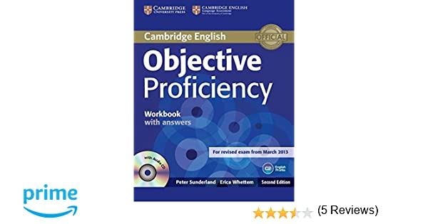 Objective proficiency workbook with answers with audio cd peter objective proficiency workbook with answers with audio cd peter sunderland erica whettem 9781107619203 amazon books fandeluxe Images