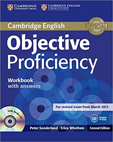 Objective proficiency workbook with answers with audio cd peter objective proficiency workbook with answers with audio cd peter sunderland erica whettem 9781107619203 amazon books fandeluxe Gallery