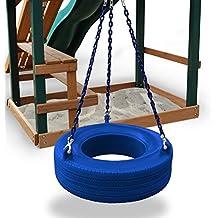 Turbo Tire Swing in Blue