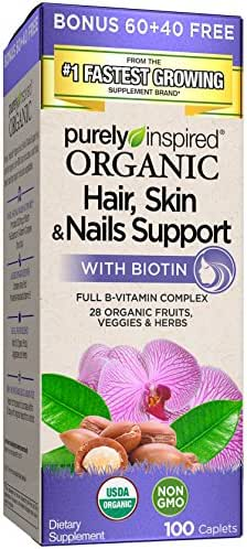 Vitamins & Supplements: Purely Inspired Organic Hair, Skin & Nails