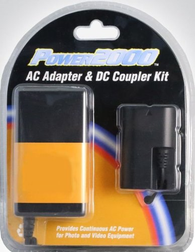 Power 2000 AC Adapter & DC Coupler Kit for Sony NEX Series ()