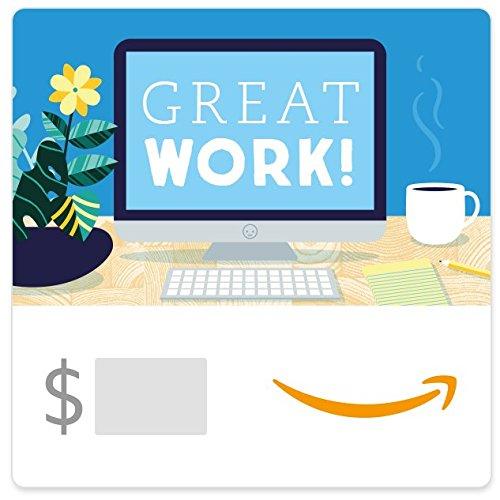 Amazon eGift Card - Great Work