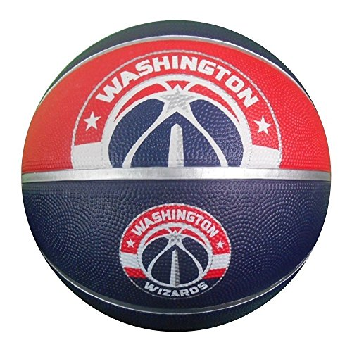 Spalding NBA Washington Wizards Courtside Rubber (Washington Wizards Nba Series)