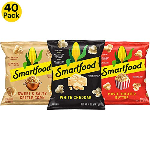 Halloween Popcorn Bar (Smartfood Popcorn Variety Pack, 0.5 Ounce (Pack of)