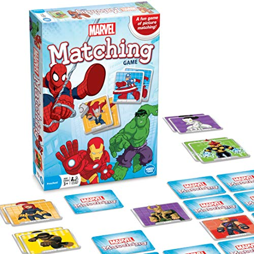 Marvel Matching Game is a great gift for 4-year-old boys