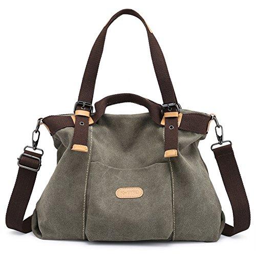 Z-joyee Casual Vintage Canvas Handbags Top Handle