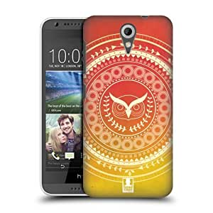 Head Case Designs Owl Olympian Mandala Protective Snap-on Hard Back Case Cover for HTC Desire 620 620G