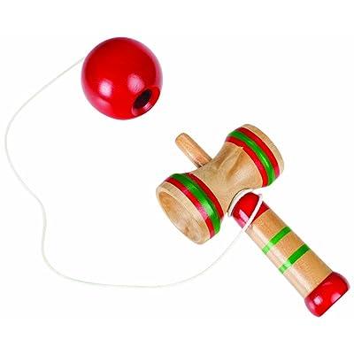 Toysmith Hardwood Kendama (5-Inch): Toys & Games