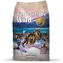 Taste of the Wild Grain Free High Protein Dry Dog Food Wetlands - Roasted Duck