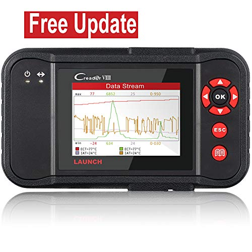 LAUNCH Black X431 Creader VIII (CRP129) OBD2 Diagnostic Scan Tool ENG/at/ABS/SRS Code Reader Scanner with EPB SAS Oil Reset Function by LAUNCH (Image #8)