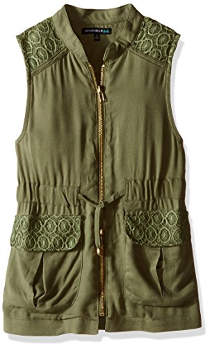 Zip Front Girls Vest - 5