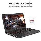 "ASUS ZX53VW 15.6"" Gaming Laptop, NVIDIA, GTX 960M 4GB, FHD, Intel Core i5-6300HQ, 8GB DDR4, 512GB SSD, Backlit keyboard, Microsoft signature image, Anti-Glare Matte Display."