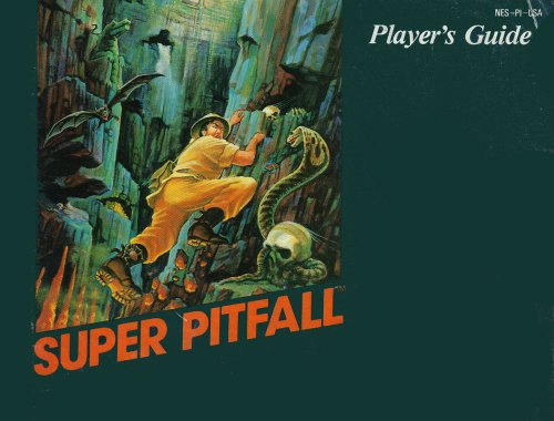 (Super Pitfall Instruction Booklet / Manual (NES Manual Only) (Nintendo NES Manual))