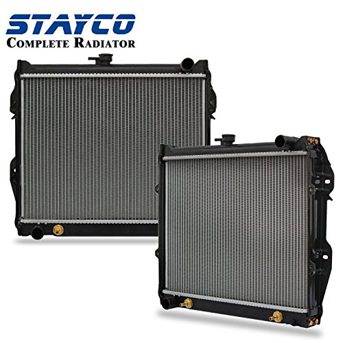 CU945 Radiator Replacement for Toyota Pickup 4Runner SR5 1984 1985 1986 1987 1988 1989 1990 1991 1992 1993 1994 1995 L4 2.4L (Radiator 1988 Pickup Toyota)