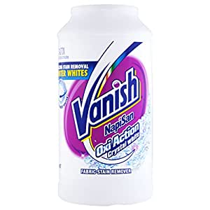 Vanish Napisan OxiAction Fabric Stain Remover Powder, Crystal White, 2kg