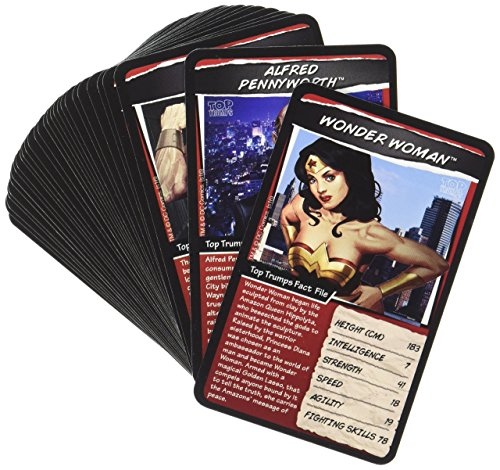 DC Superheroes Top Trumps Card Game | Educational Card (Superhero Trading Cards)