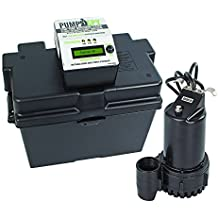 PumpSpy Technology PS1000 12V DC Battery Back-Up Sump Pump with Built-in Internet Monitoring