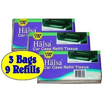 Tempo Auto Visor Tissue Refills Total of 9 Refills 3 Bags