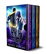 Violet's Story (Creepy Hollow Books 1, 2 & 3)