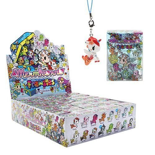 Tokidoki Mermicorno Frenzies Zipper Charm Display Case of 30 Blind Boxes