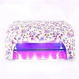 Perfect Summer 36W UV Led Lamp Nail Polish Dryer CCFL+SMT LED 100-220V Flower Pattern #03