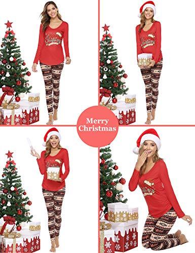 Abollria Leggings Court Dentelle Femme 3/4 Pantalon Court Sport Yoga Legging Imprimé Collant Classique Chic Décontracté…