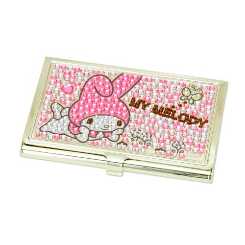 [My Melody]Glitter stone card holder