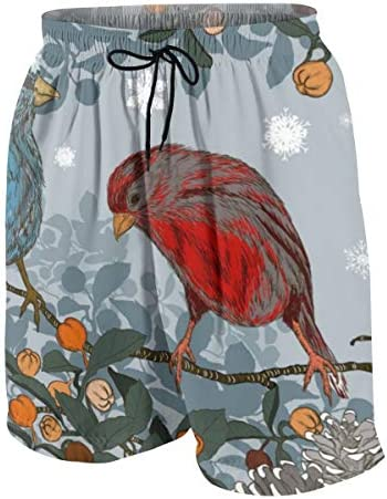 キッズ ビーチパンツ 鳥柄 花柄 クリスマス サーフパンツ 海パン 水着 海水パンツ ショートパンツ サーフトランクス スポーツパンツ ジュニア 半ズボン ファッション 人気 おしゃれ 子供 青少年 ボーイズ 水陸両用