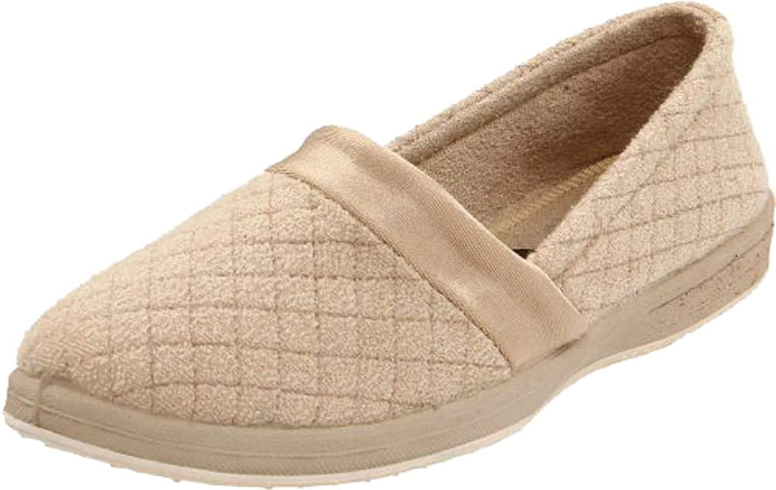 Women/'s Foamtreads Coddels All Season Slip On Slippers-Wide