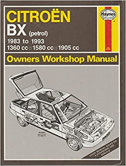 Torrent Español Descargar Citroen Bx Owner's Workshop Manual It Epub