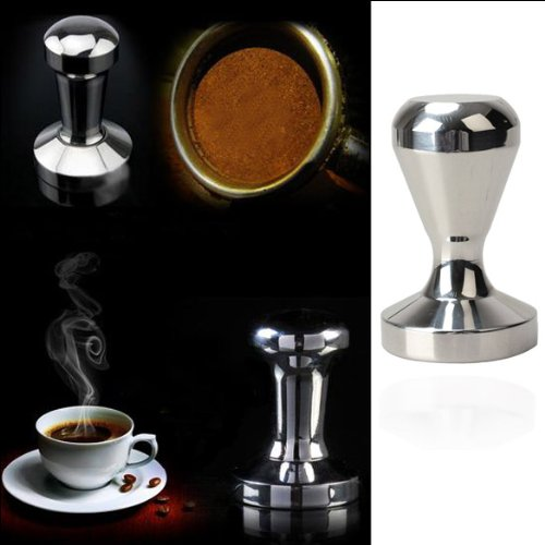 ACE Coffee Barista Espresso Tamper 51mm Base Clear Body Stainless Steel Press