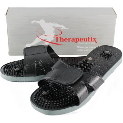 Therapeutix | TENS Unit Electronic Massager | Universal Electrode Sandals | Lifetime Replacement | Medium by Therapeutix