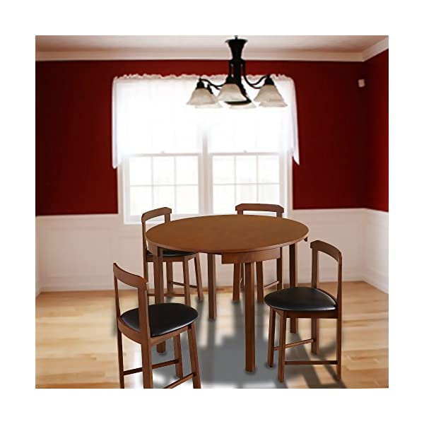 Wondrous Hideaway Dining Table Home Low Back Harrisburg Tobey Compact Round Dining Set Space Saving Design Foam Seat Cushions Round Dining Table And Four Beatyapartments Chair Design Images Beatyapartmentscom