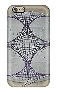Durable Protector Case Cover With String Art Hot Design For Iphone 6