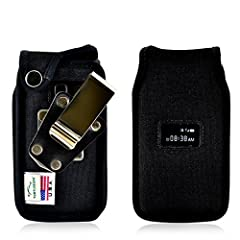 Protect your phone from dirt, dust, and damage with the Turtleback Ballistic Nylon Phone Case! This ergonomic phone case is specifically designed for the TracFone ZTE Cymbal T  flip phone and is fitted to match the phone's dimensions p...