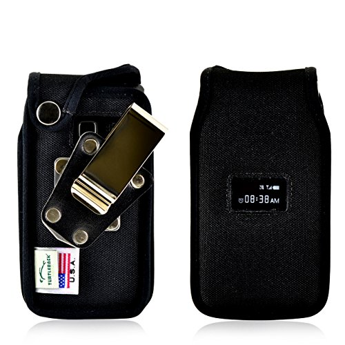 Turtleback Fitted Case Made for ZTE Cymbal T Phone Black Nyl