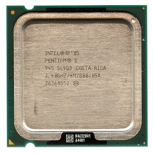 Intel Pentium D 945 3.40GHz 800MHz 4MB Socket 775 Dual Core CPU (Pentium 775 D Socket)