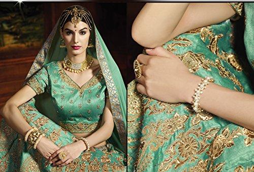 SEs-Indian-Women-Designer-Wedding-Bridal-Turquoise-Lehenga-Choli-SS-8006
