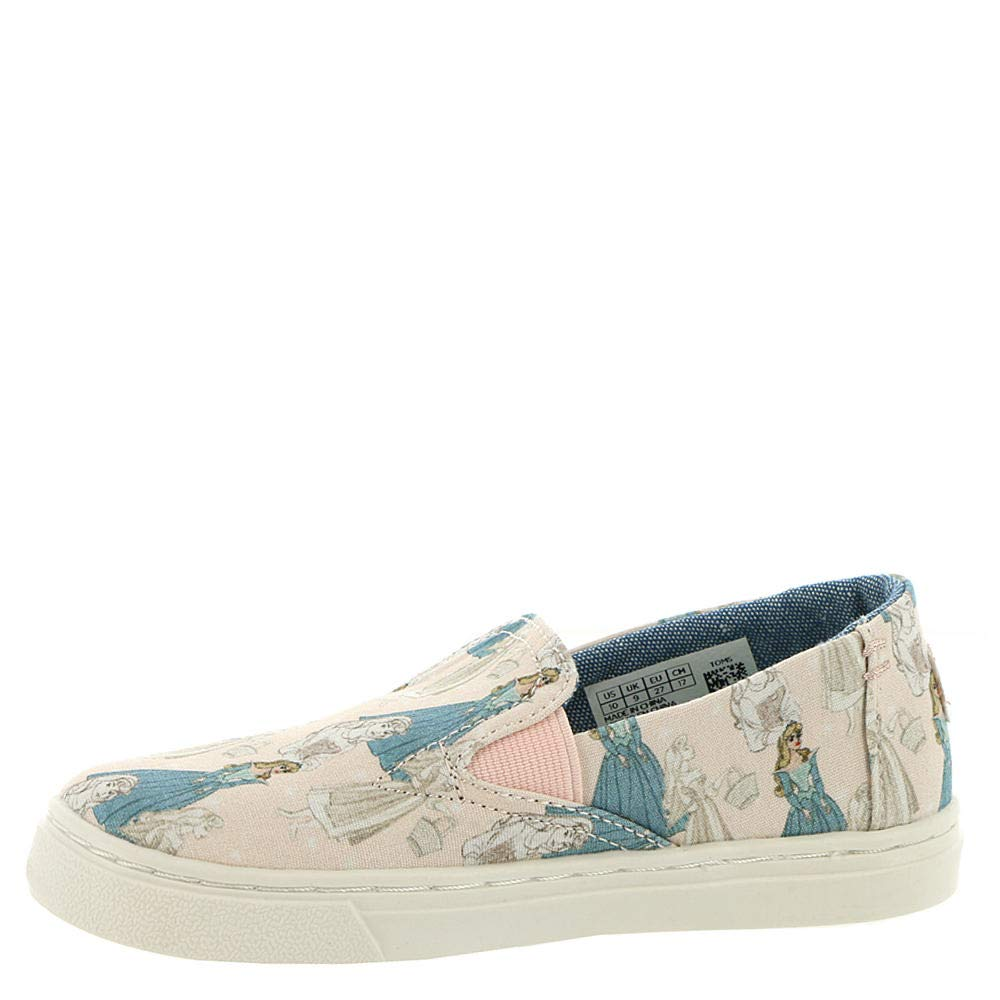 TOMS Kids Baby Girl's Luca Disney¿ Princesses (Infant/Toddler/Little Kid) Pink Sleeping Beauty Printed Canvas 7 M US Toddler M by TOMS (Image #4)