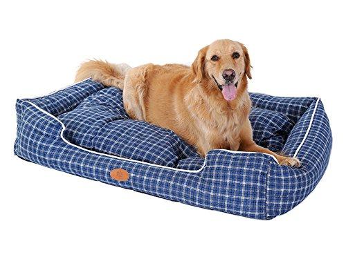 dog beds extra large washable - 7