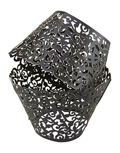 black cupcake liners bulk - 9