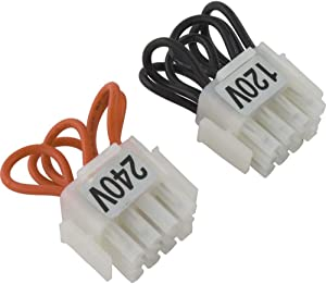 Pentair 42001-0105S 120/240-Volt Selector Plug Kit Replacement Pool and Spa Heater Electrical Systems