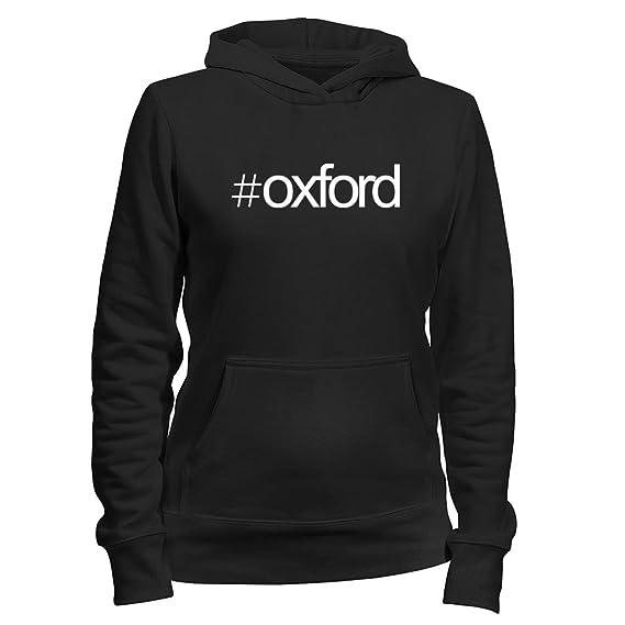 Idakoos Hashtag Oxford - Ciudades Usa - Sudadera con capucha para mujer: Amazon.es: Ropa y accesorios