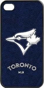 MLB Team Logo, Toronto Blue Jays Team Logo Case For HTC One M7 Cover (BlacToronto Blue Jays 1