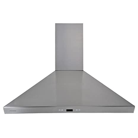 CAVALIERE SV218F 36 Wall Mounted Stainless Steel Kitchen Range Hood 900 CFM